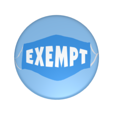 disability exempt badge